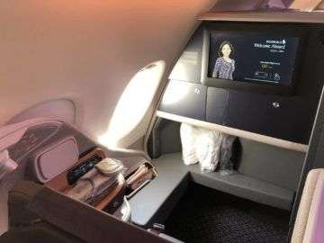 singapore airlines neue business class a380 sitz2
