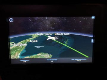 singapore airlines neue business class a380 start fruehstueck