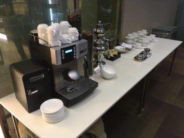 singapore krisflyer gold lounge terminal3 kaffeemaschine