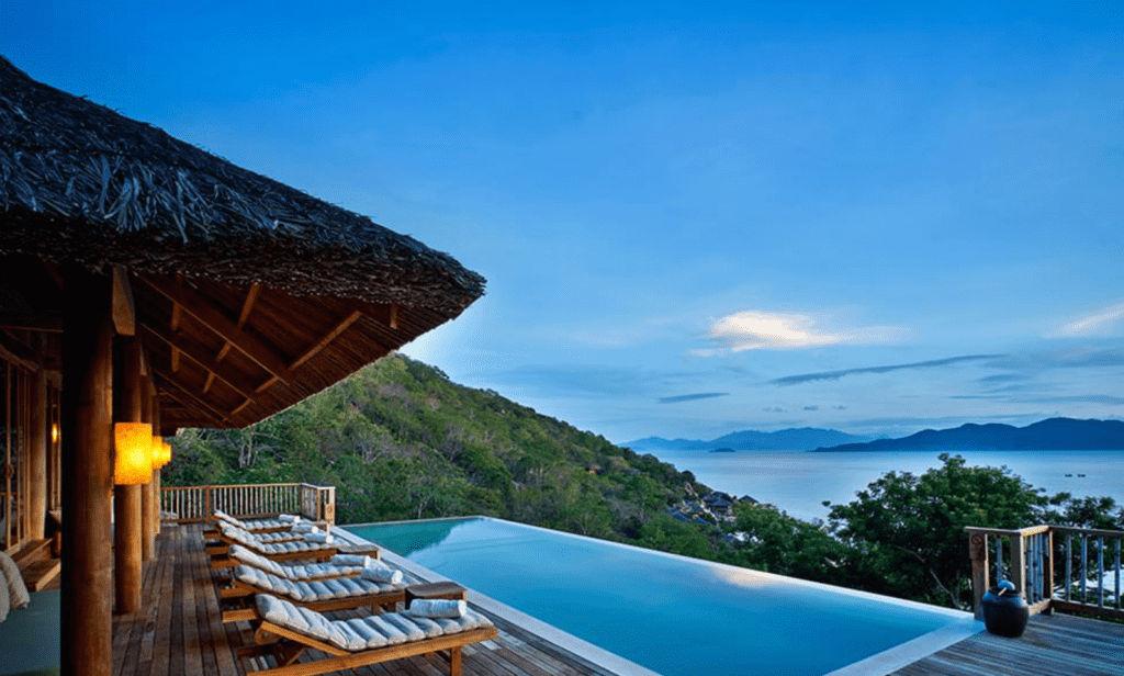 Six Senses Ninh Van Bay Resort in Vietnam © Six Senses