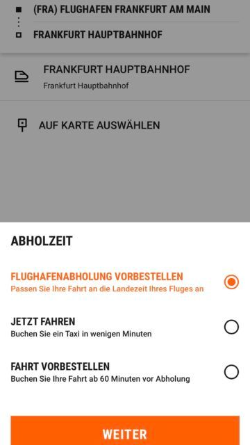 sixt ride app screenshot 2
