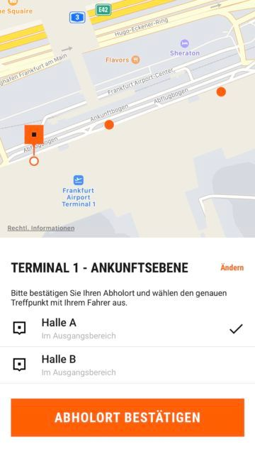 sixt ride app screenshot 6