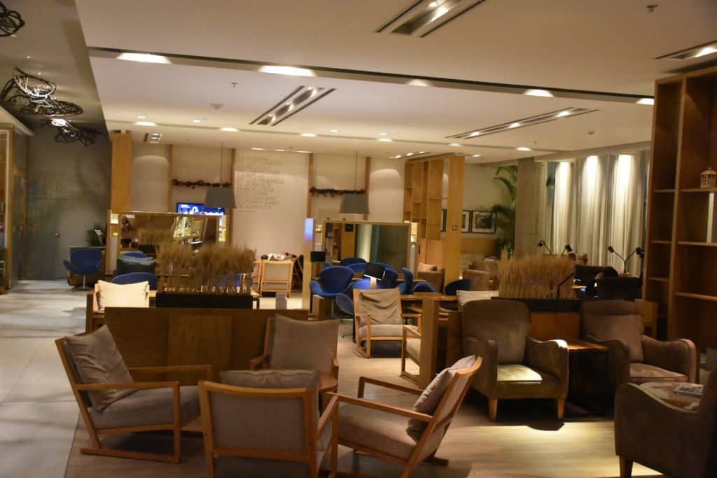 star alliance lounge buenos aires blick in die lounge