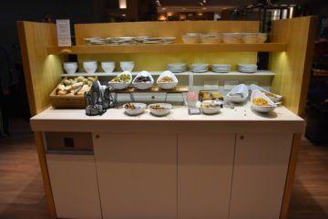 Snacks am Hauptbuffet