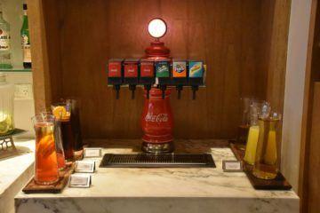 Softdrinks am Hauptbuffet