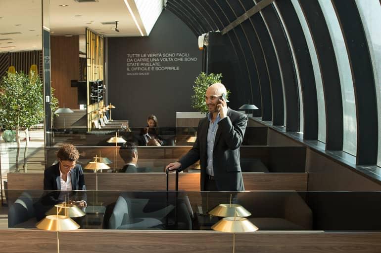 Die neue Star Alliance Lounge Rom