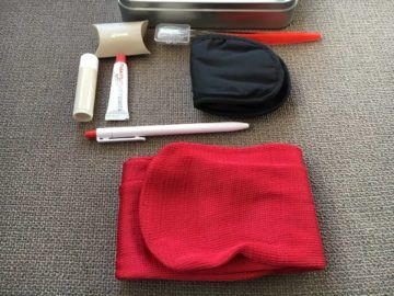 swiss business class 777 300er amenity kit 4