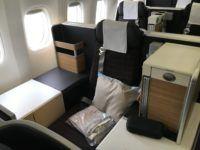 swiss business class 777 300er thron 1