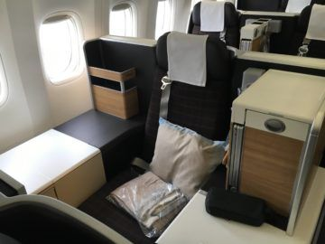 swiss business class 777 300er thron 1