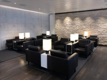 swiss business lounge zurich e gates hinterer bereich
