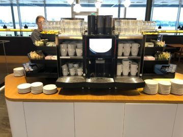 swiss business lounge zurich e gates kaffemaschine
