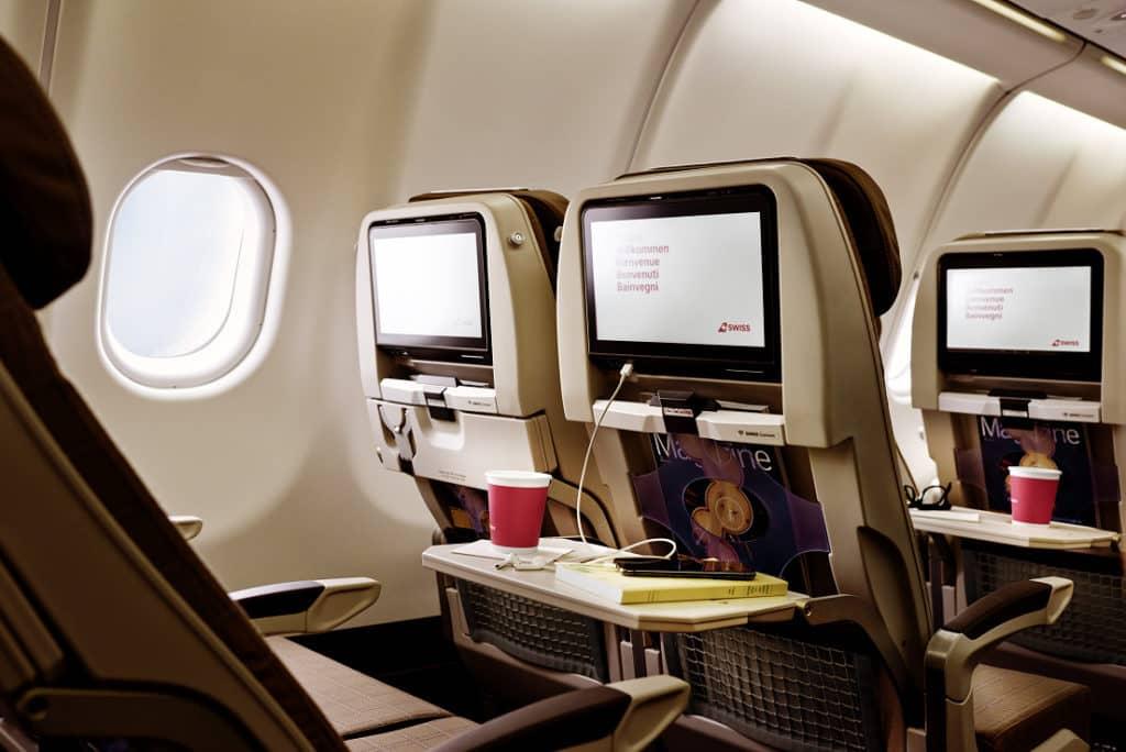Die neue Swiss Economy Class im A340 &copy Swiss