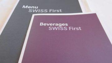 swiss first class boeing 777 300er essen menue