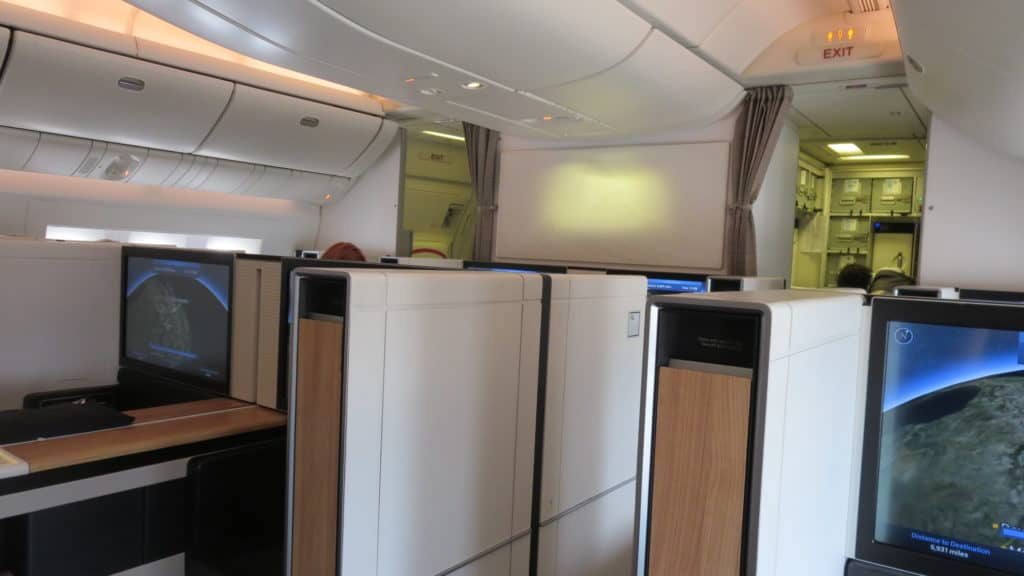 swiss first class boeing 777 300er kabine 1