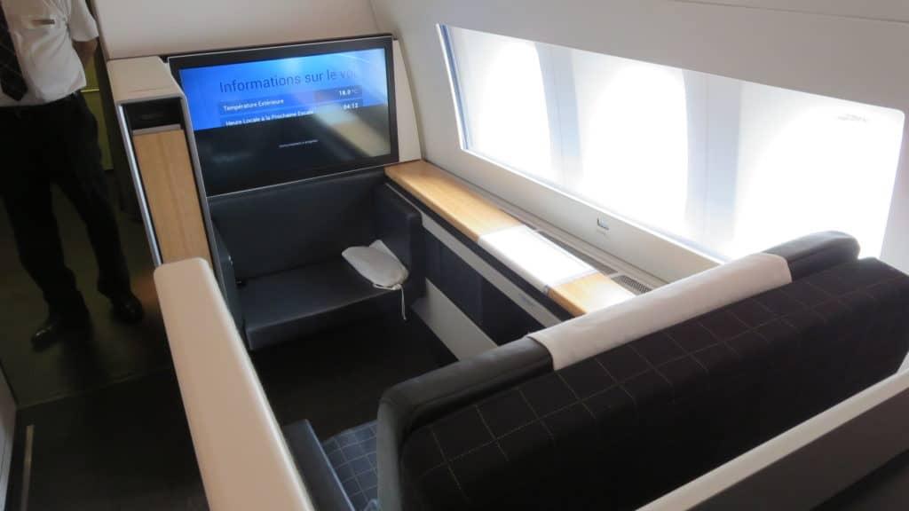 swiss first class boeing 777 300er sitz 4