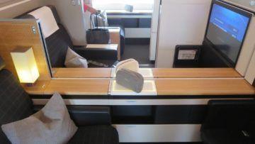 swiss first class boeing 777 300er sitz 6