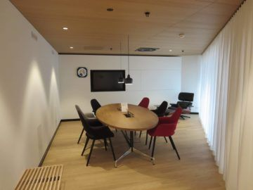 Swiss First Class Lounge Zürich A Konferenzraum