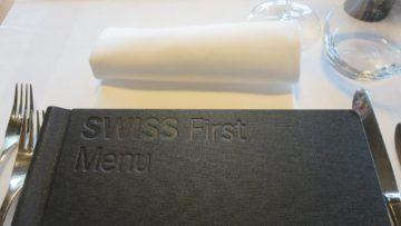 swiss first class lounge zuerich e essen menue 1