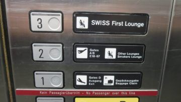 swiss first class lounge zuerich e fahrstuhl