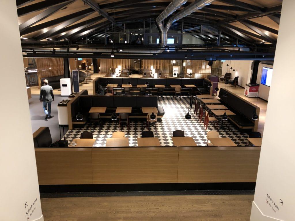 Swiss Senator Lounge Zurich A Gates Lounge von oben