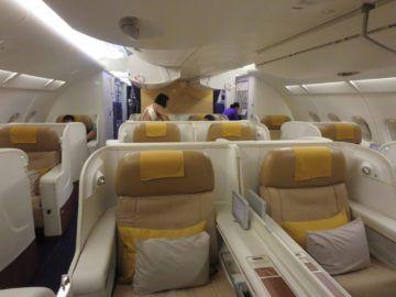 thai airways first class a380 kabine 1