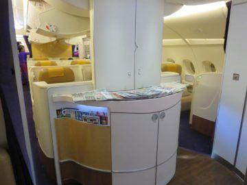 thai airways first class a380 kabine 4
