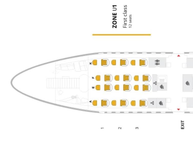 thai airways first class a380 seatmap