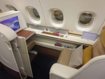 thai airways first class a380 sitz 1