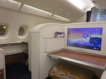 thai airways first class a380 sitz 4