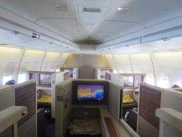 thai airways first class boeing 747 kabine 2