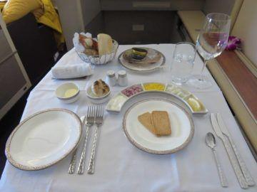 thai airways first class boeing 747 kaviar 1