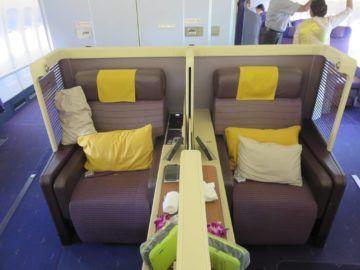 thai airways first class boeing 747 mittelsitze 1