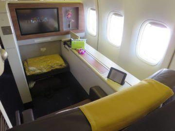 thai airways first class boeing 747 sitz 3