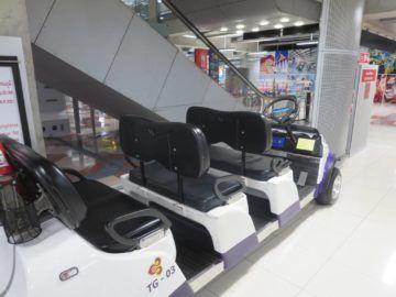 thai airways first class lounge bangkok buggy 1
