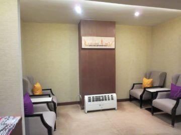 thai airways first class lounge bangkok zeitschriftenecke 2
