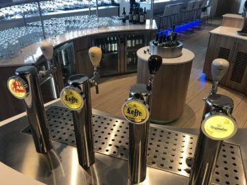 the loft by brussels airlines auswahl biere