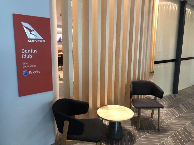 the qantas club melbourne eingangsbereich