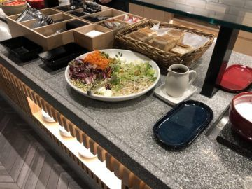 the qantas club melbourne salat