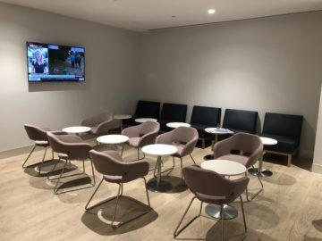 the qantas club melbourne sitzmoeglichkeiten hinter eingang