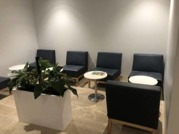 the qantas club melbourne sitzoption sessel