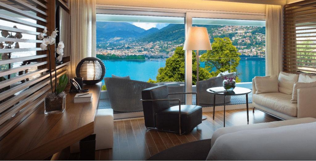 SLH - THE VIEW Lugano in der Schweiz ©Hyatt