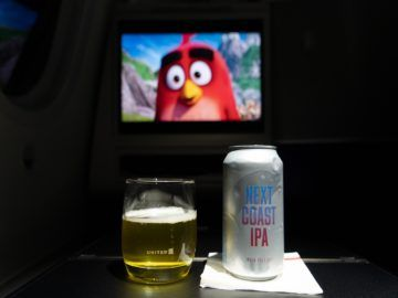 united airlines business class boeing 787 10 bier 1