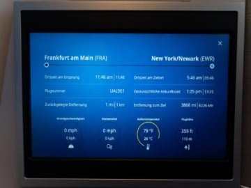 united airlines business class boeing 787 10 fluginfomartion 1
