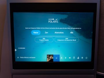 united airlines business class boeing 787 10 relax modus 1