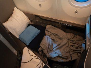 united airlines business class boeing 787 10 sitz zum bett 1