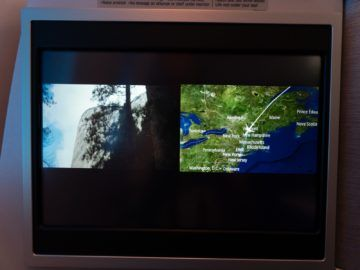 united airlines business class boeing 787 10 splitscreen funktion 1