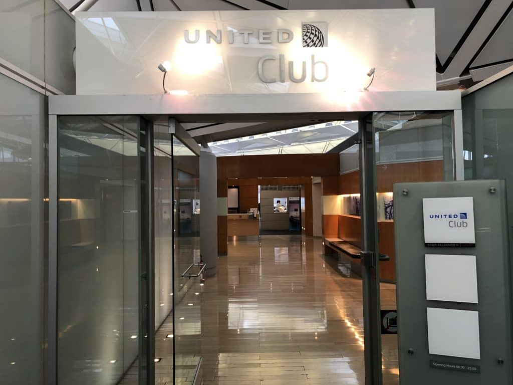 United Club Hong Kong Eingang