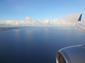 united island hopper landeanflug guam 1