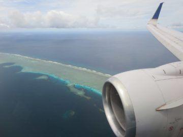 united island hopper landeanflug pohnpei 1