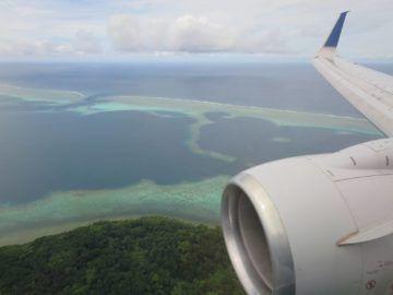 united island hopper landeanflug pohnpei 2